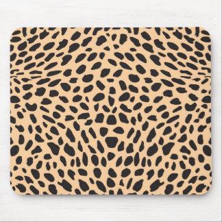 Skin cheetah decor mouse mat