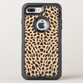 Skin cheetah decor OtterBox defender iPhone 8 plus/7 plus case