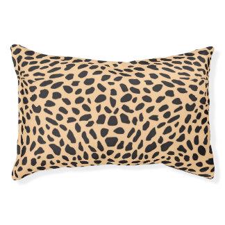 Skin cheetah decor pet bed