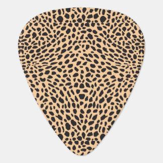 Skin cheetah decor plectrum
