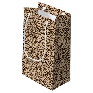 Skin cheetah decor small gift bag