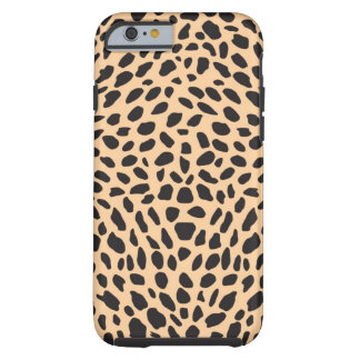 Skin cheetah decor tough iPhone 6 case