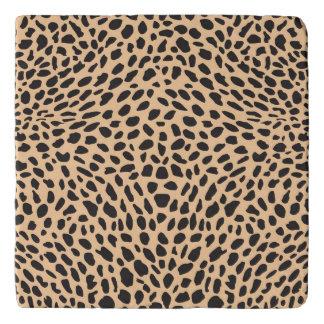 Skin cheetah decor trivet