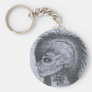 Skin Deep Keychain