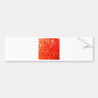 Skin of Strawberry Bumper Stickers