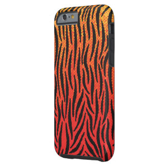 Skin of tiger tough iPhone 6 case