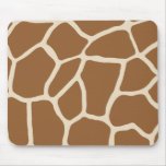Skin Pattern, Colours of the Giraffe Mouse Pad