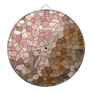 Skin Tone Mosaic Dartboard