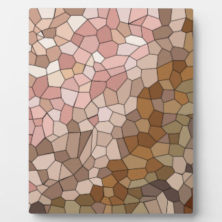 Skin Tone Mosaic Display Plaques