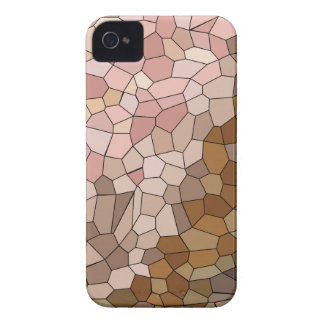 Skin Tone Mosaic iPhone 4 Case-Mate Cases