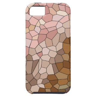 Skin Tone Mosaic Tough iPhone 5 Case