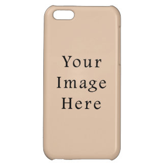 Skin Tone Sand Neutral Color Trend Blank Template iPhone 5C Cover