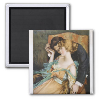 Skin You Love to Touch Mary Greene Blumenschein Square Magnet