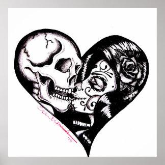 "Skinderella ""Heart Kiss"" Posters"
