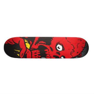 Skinned Skateboard
