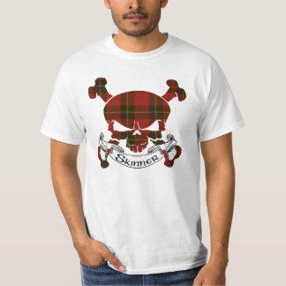 Skinner Tartan Skull T-Shirt
