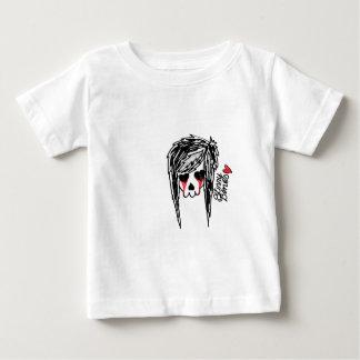 Skinny Bones Girl Skeleton Logo Shirt