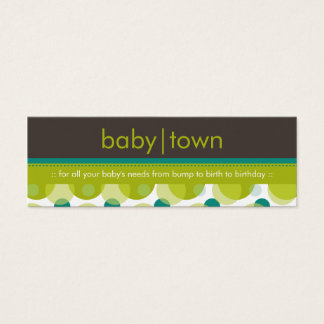 SKINNY BUSINESS CARD :: babytown 7