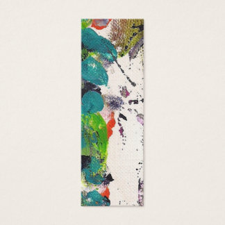 Skinny Card Acrylic Painting By Kismae