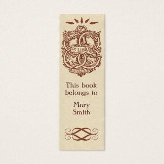 Skinny Card Bookmark Customizable