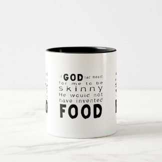 Skinny Food Mugs