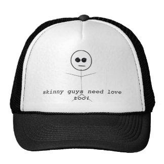 Skinny guys need love too trucker hat
