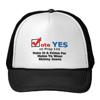 Skinny Jeans Trucker Hat