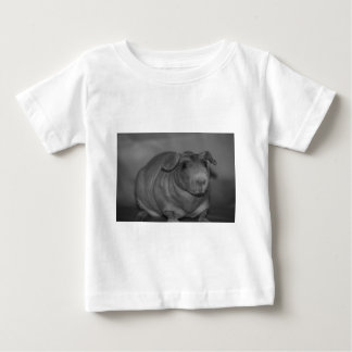 Skinny Pig in black and White Baby T-Shirt