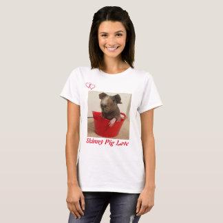 Skinny Pig Love T-Shirt