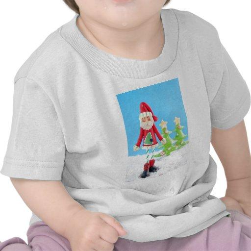 Skinny Santa Claus T Shirt