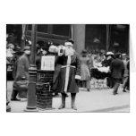 Skinny Santa, early 1900s Cards