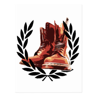 skins boots postcard