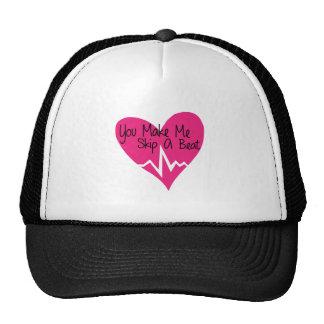 Skip A Beat Mesh Hat