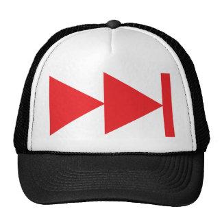 Skip Key Mesh Hat
