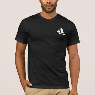 Skipper Sailor Name Mens Black T-Shirt