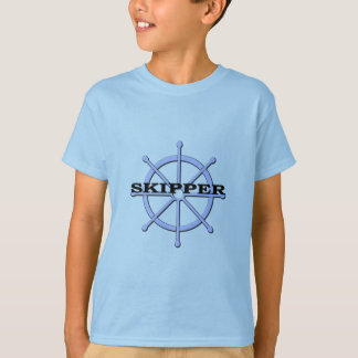 Skipper Ship Wheel T-Shirt