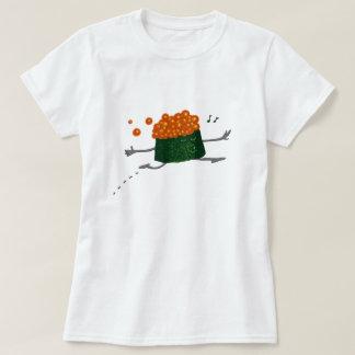 Skipping Salmon Roe Funny Sushi T-Shirt