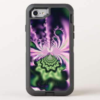 Skipping Stones Fractal OtterBox Defender iPhone 8/7 Case