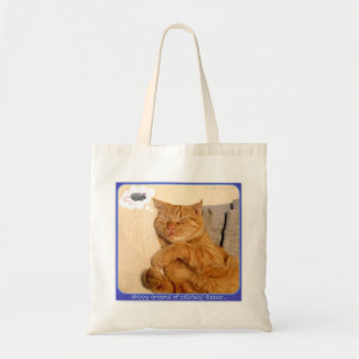 Skippy Gets Carried Away Budget Tote Bag