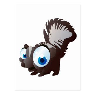 Skippy The Skunk Postcard