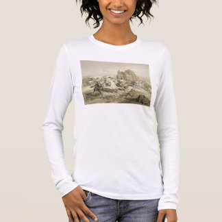 Skirmish of Persians and Kurds in Armenia, plate 1 Long Sleeve T-Shirt