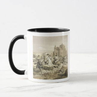 Skirmish of Persians and Kurds in Armenia, plate 1 Mug