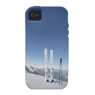 Skis and Ski Poles Vibe iPhone 4 Cases