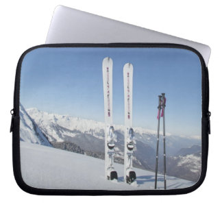 Skis and Ski Poles Laptop Sleeve