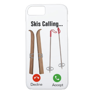 Skis Calling... iPhone 7/8 Case