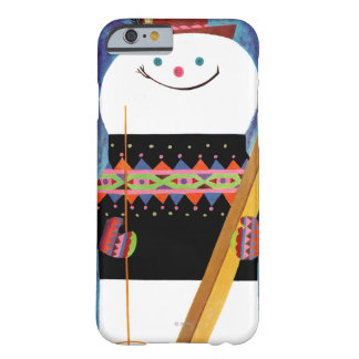 Skis for Snowman Barely There iPhone 6 Case