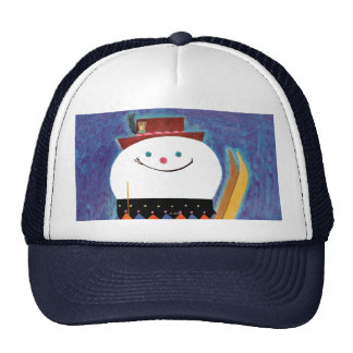 Skis for Snowman Cap