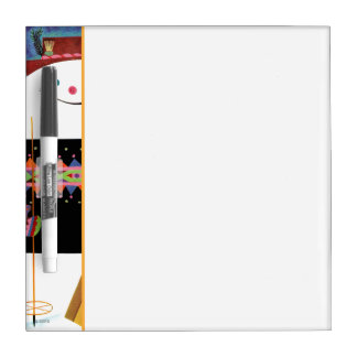Skis for Snowman Dry Erase Board