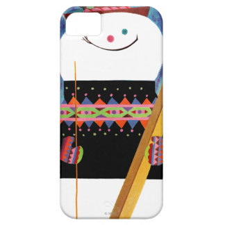 Skis for Snowman iPhone 5 Cover