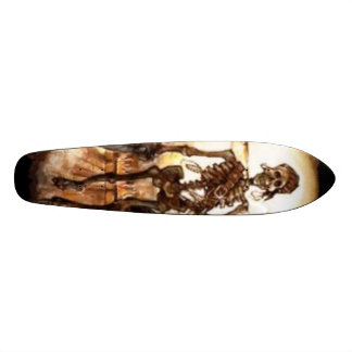 skleleton pirate 20.6 cm skateboard deck